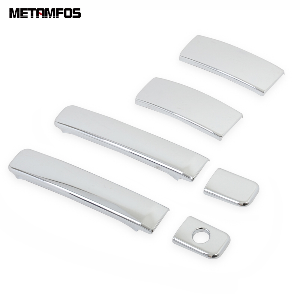 For <font><b>Hyundai</b></font> Grand Starex H-1 i800 2018 2019 2020 Chrome <font><b>Door</b></font> <font><b>Handle</b></font> Catch Cover Trim Protection Frame Exterior Car Accessories image
