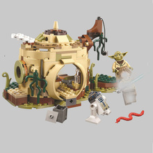 10904 Star Yodas Hut Luke Skywalker R2-d2 Compatible Wars Building Block Bricks Kids Children Boys Toys Birthday Gifts