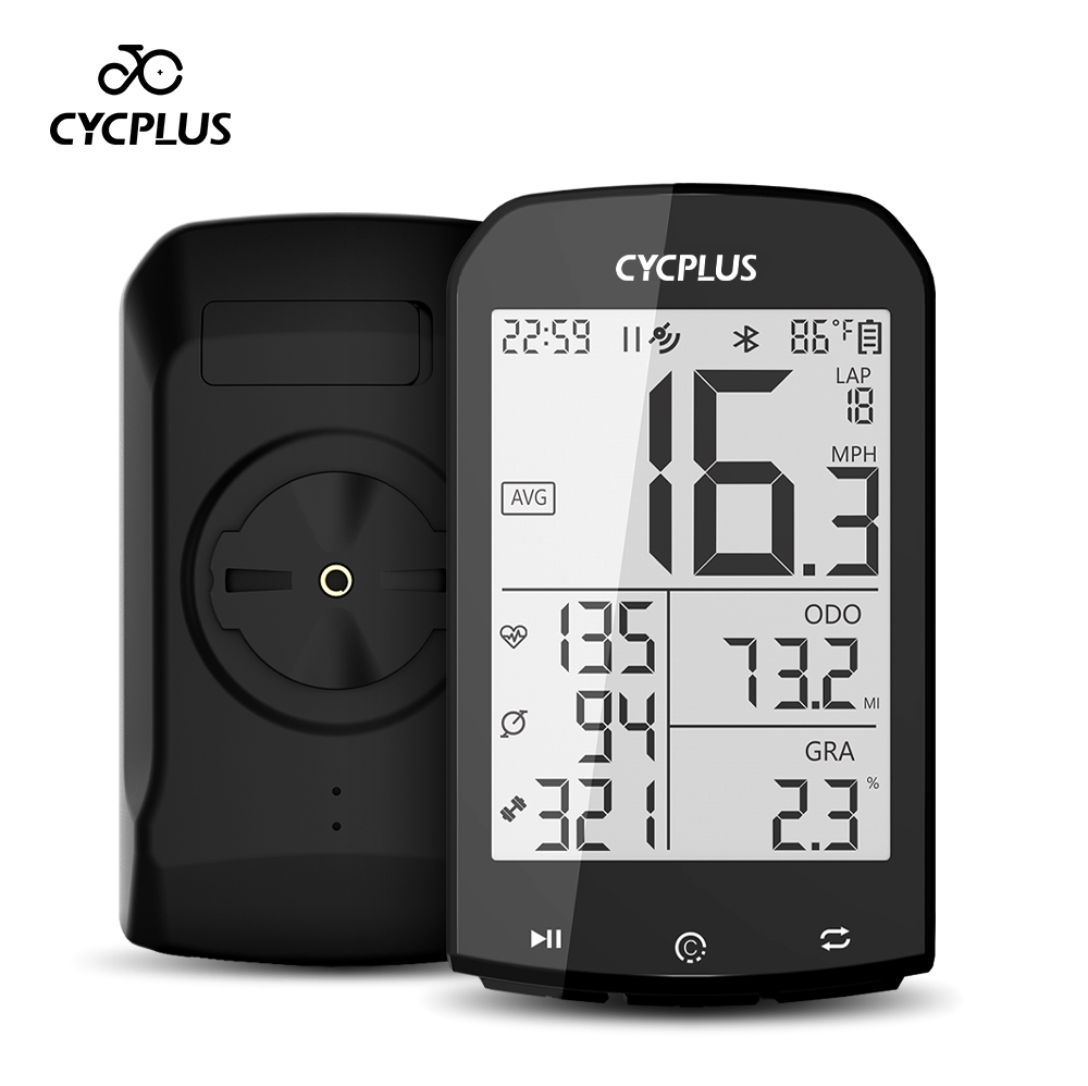 Cycplus m1 acessórios da bicicleta gps computador ciclismo velocímetro bluetooth 4.0 ant + ciclismo medidor de potência para garmin zwift