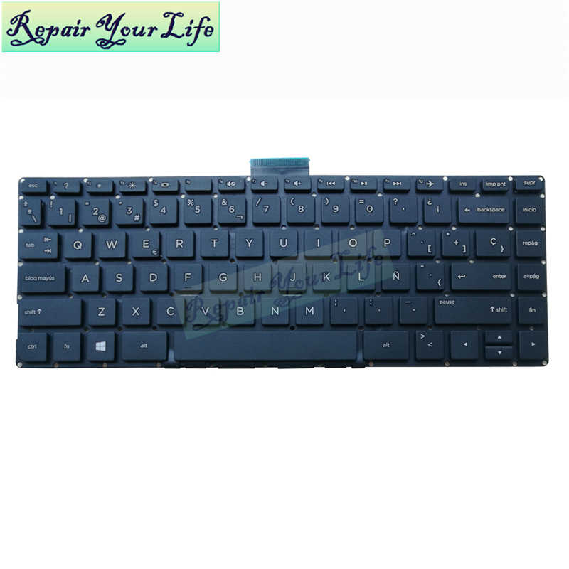 Replacement Keyboard With Frame For HP 9Z.N9KSW.001 NSK-CQ0SW 01 727682-001 721953-001 SN8126 90.4ZA07.S01 V139530AS1 US Layout Black Color