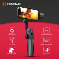 FUNSNAP Capture2 3 Axis Handheld Gimbal Stabilizer For Smartphone for Sports Gopro Camera phone handheld gimbal Stabilizer