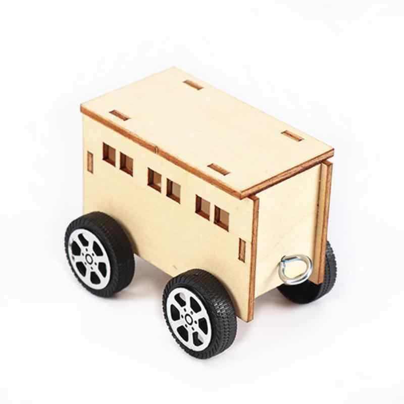 لعبة تجميع Model بها بنفسك نموذج RC القطارات قسط الإبداعية بسيطة التعليمية مضحك الحرفية ثلاثية الأبعاد لغز لعبة قطار للأطفال