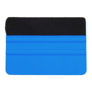 New Car vinyl film wrapping tools squeegee with felt soft wall paper scraper mobile screen protector install squeegee tool image