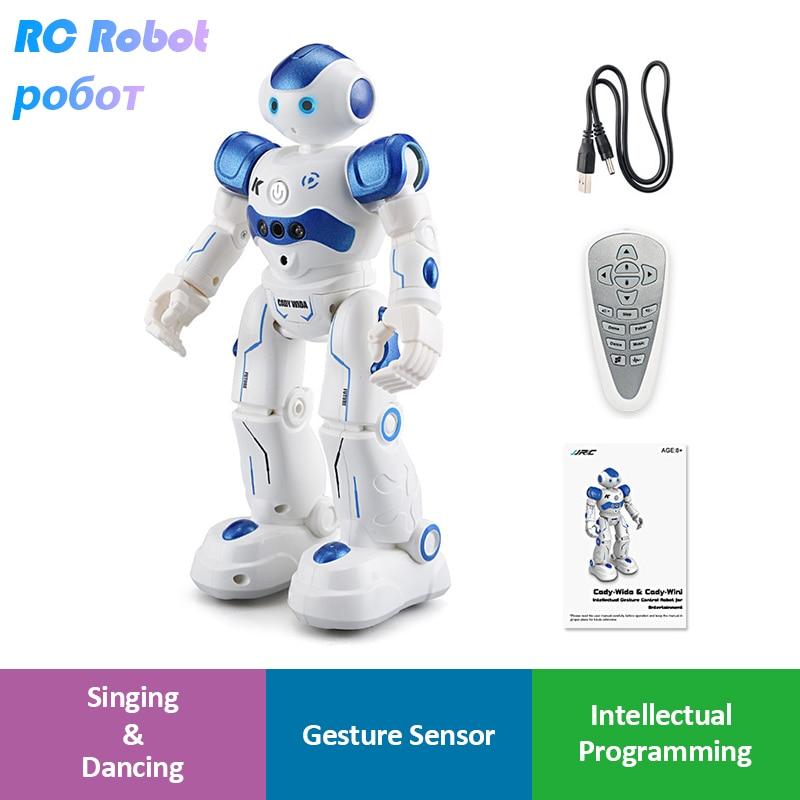 LEORY RC Roboter Intelligente Programmierung Fernbedienung Robotica Spielzeug Biped Humanoiden Roboter Für Kinder Kinder Geburtstag Geschenk Präsentieren