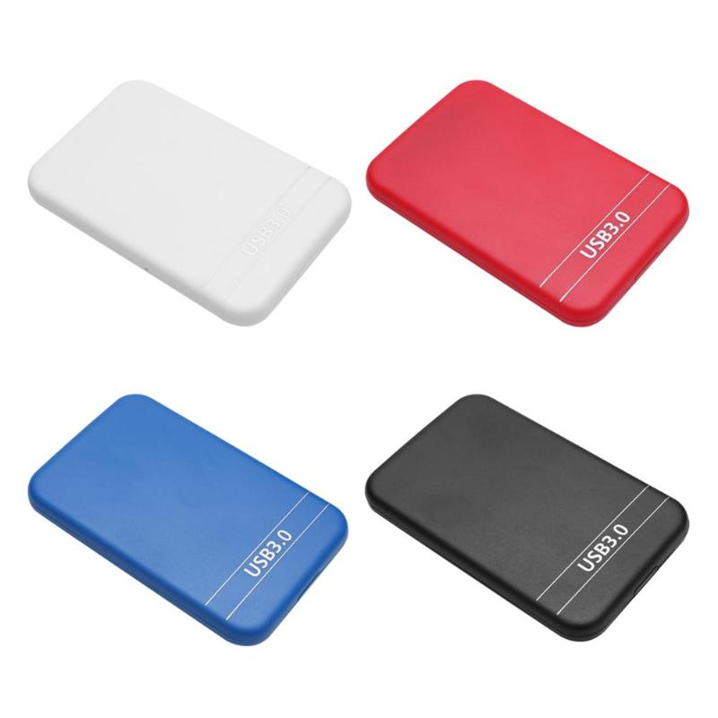 2.5 Inch SATA To USB 3.0 HDD SSD Case SATA2 SATAII Hard Drive Enclosure External Hard Disk Mobile Box For Windows Mac OS