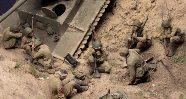 Red, set, Kits, Army, Model, Tank