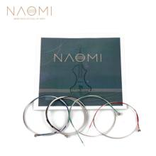 NAOMI Violin String For 4/4 3/4 Violin Steel Strings G D A & E Strings Violin Parts Accessories SET New(China)