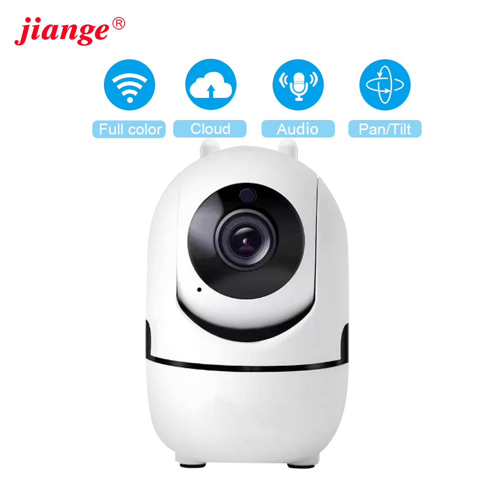 Jiange  Indoor Ip Camera камера HD 1080P Cloud Wireless Home Security Surveillance Camera Auto Tracking WiFi Camera YCC365 Plus