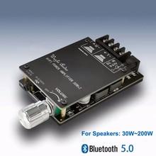 블루투스 5.0 디지털 50W + 50W TPA3116 스피커 용 오디오 파워 앰프 30W ~ 200W HiFi 스테레오 TPA3116D2 Aux 앰프 보드