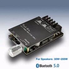 Bluetooth 5.0 digital 50w + 50w tpa3116 amplificador de potência de áudio para alto falantes 30w ~ 200 alta fidelidade estéreo tpa3116d2 aux placa amplificador