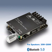 Bluetooth 5.0 numérique 50W + 50W TPA3116 amplificateur de puissance Audio pour haut parleurs 30W ~ 200W HiFi stéréo TPA3116D2 Aux carte amplificateur