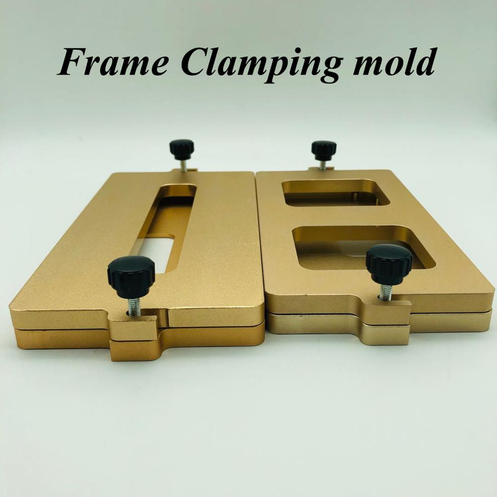 Dedicated Frame Clamping Mold For Xs-max Xs X Glass Screen Frame Positioning Cold Glue Holding Close Together Mould