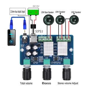 Image 4 - XH A355 Yamaha Stereo a 2.1 canali Audio Digitale amplificatore di potenza bordo Basso subwoofer AMP 10WX2 + 20W home theater