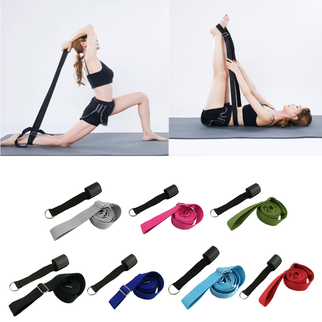 Ballet Dance Stretch Band Leg Door Home Exercise Foot Stretcher Stretching Strap