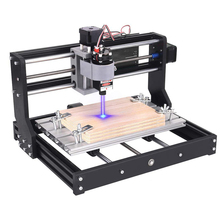 2 in-1 Laser Engraver CNC 3018 Pro Engraving Machine, GRBL Control 3 Axis DIY Mini CNC Machine Wood Router Engraver with
