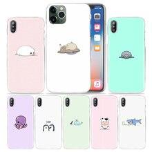 Coque rigide à motifs de dessin animé Totoro pour iPhone, compatible modèles 6, 6S, 7, 8, 11 Pro, XS Max, XR, X, 10 Plus, 5s, SE