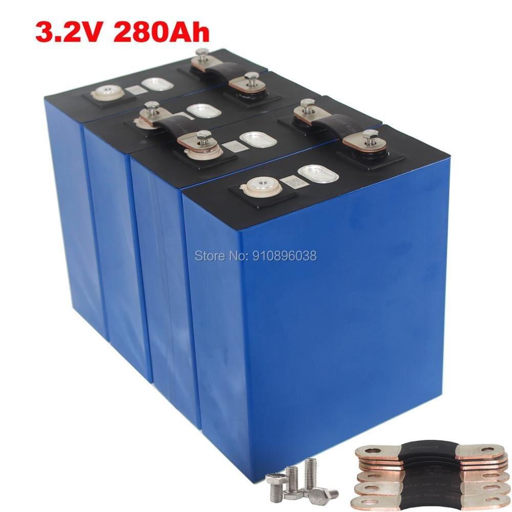 Высококачественный литий-железо-фосфатный аккумулятор класса А LiFePO4 3,2 в А для солнечной энергетической системы 12 В 3 кВт, 4 шт./лот