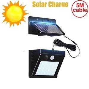 30 led solar light split panel