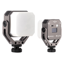 Portable pocket MINI LED Light Magnetic Dimmable DSLR camera video photography Macro lighting for Vlog youtube TikTok