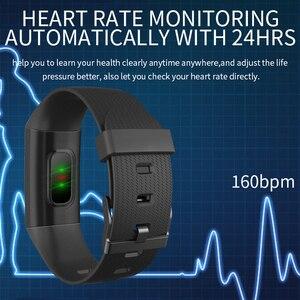 Image 2 - Pulsera deportiva GIMTO, medición de presión y Monitor de pulso, reloj inteligente para hombres, pulsera de seguimiento de actividad, recordatorio de llamada