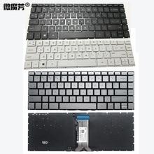 New US laptop keyboard for HP Pavilion X360 14-BA 14T-BA 14M-BA 14-BS 14-BS000 BS100TPN-W125 Q186 Q189 C121 Backlit