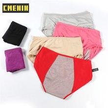 CMENIN culotte menstruelle femmes Sexy pantalon étanche Incontinence sous-vêtements période preuve slips chaud sain taille moyenne P0059