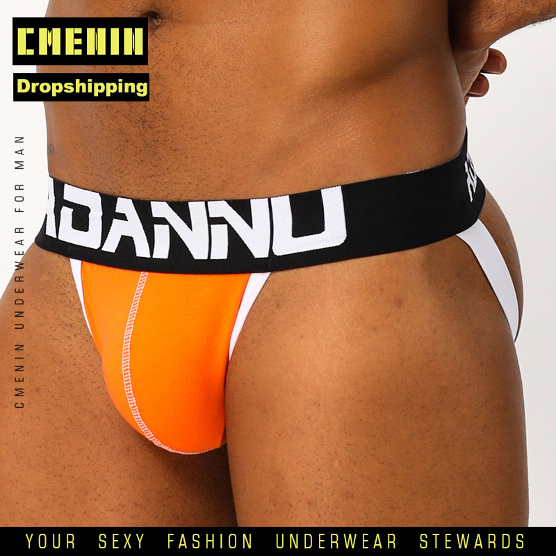 CMENIN Sexy Gay Underwear Men Thong Men Jockstrap Men's Lingerie G String Men Penis Pouch Gay Underwear  For Dropshipping