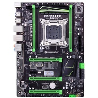 HOT HUANANZHI X79 Plus Motherboard ATX LGA2011 SATA3 USB3.0 PCI E 16X NVME M.2 E5 SSD Suporte ECC REG RAM CPU|Placas-mães|   -