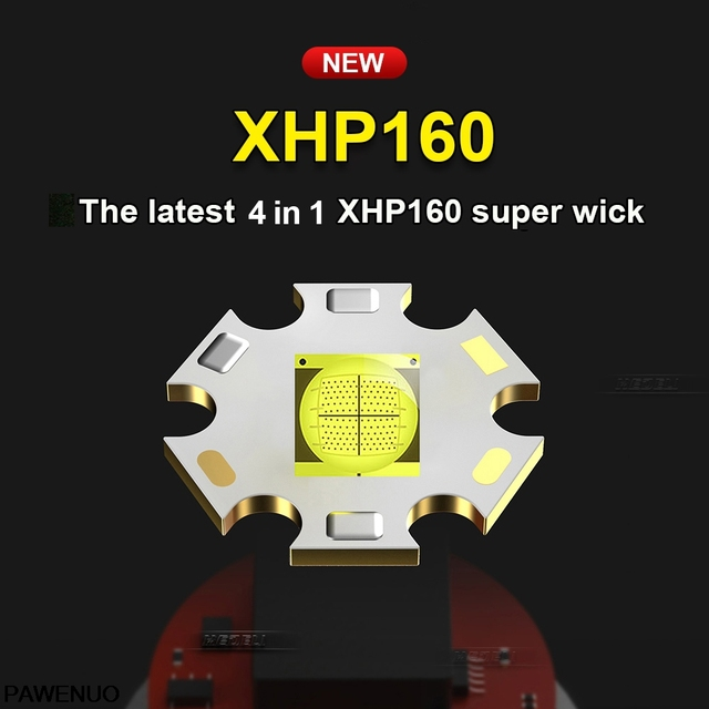 XHP160 COB Led Flashlight 18650 or 26650 Usb Tactical Flash Light XHP70.2 Rechargeable Led Lantern Zoom Hunting Bright Work Lamp 2