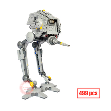 10376 499pcs 2016 Bela New Star Wars AT-DP Building Blocks Toys Gift  Rebels animated TV series Compatible With brick 75083
