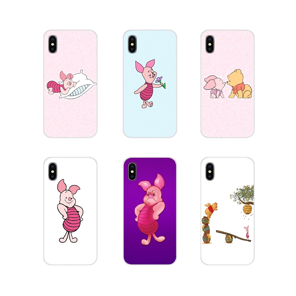 For LG G3 G4 Mini G5 G6 G7 Q6 Q7 Q8 Q9 V10 V20 V30 X Power 2 3 K10 K4 K8 2017 Piglet Accessories Phone Shell Covers