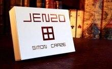JENZO от Simon Craze Close up Magic, иллюзия ментализма, волшебные игрушки, Классические Волшебные трюки