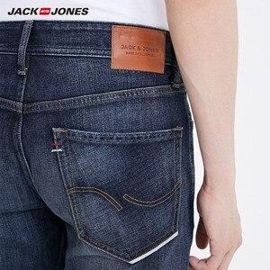 Image 4 - جينز ضيق مطاطي للرجال من JackJones جينز دينم بطراز كلاسيكي على الموضة لعام 219132559