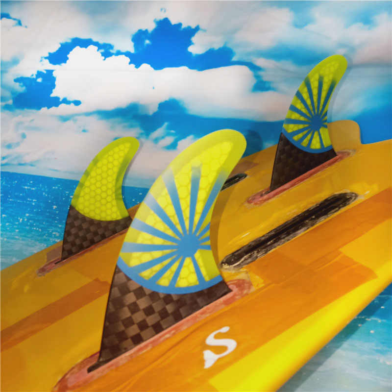 Quilhas para prancha de surf g3, quilhas de fibra de carbono para prancha de surf, sup, quilhas para prancha de surf