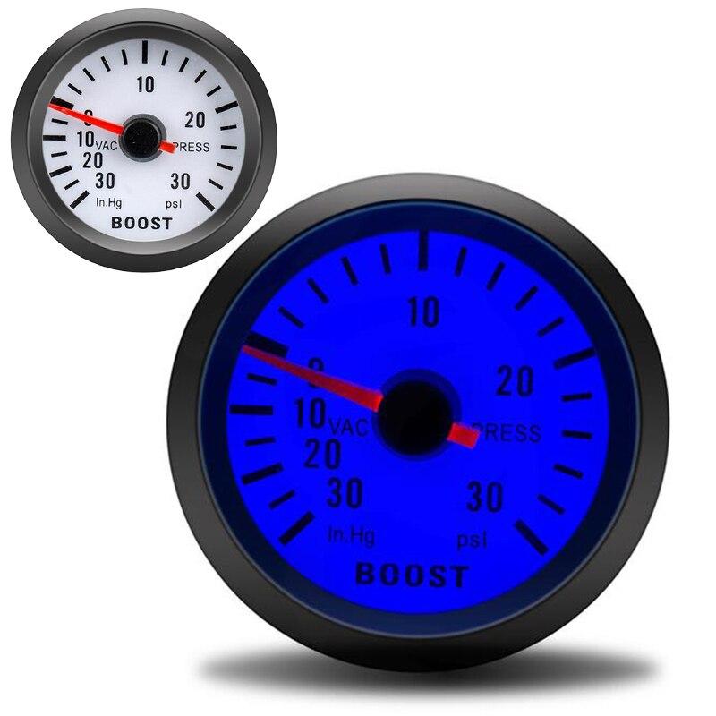 Indicador automático, barra de 52mm, medidor de impulso Turbo de 2