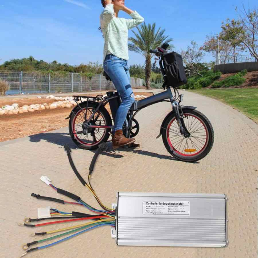 Accessoire électrique de contrôleur de moteur sans brosse pour le vélo de montagne 36 V/48 V 1000 W/1500 W accessoires de contrôleur de moteur de bicyclette