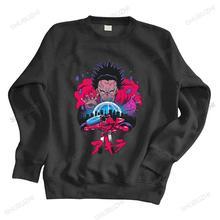 Mężczyźni streetwear bluza Neo Tokyo bluza z kapturem mężczyzn Synthwave Akira bluzy z kapturem Shotaro Kaneda motocykl ciepłe ciepła bluza z kapturem rozmiar euro tanie tanio Jesień I Zima Na co dzień CASUAL CN (pochodzenie) Pełne COTTON POLIESTER Drukuj REGULAR Z okrągłym kołnierzykiem shubuzhi