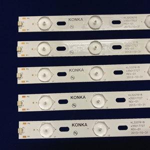 Image 2 - 100%New KONKA KL32GT618 LED backlight 35017727 10leds 64.4cm 1set=2 pieces
