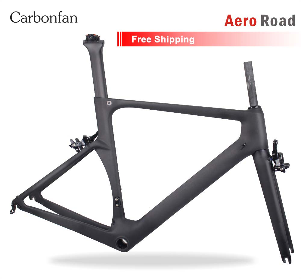 Carbonfan 700c Aero Carbon road frame BB86 700c Carbon bike frame Customized painting Cadre BICICLETAS Racing bike frame