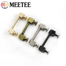 Screw Buckle-Arch-Bridge Lock-Handle Luggage Diy-Accessories Metal Meetee Hardware