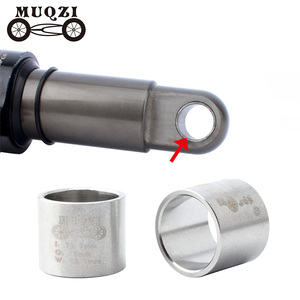 MUQZI Mountain Bicycle Rear Bile Shock Absorbers Du Bushing Suspension Parts Stainless Steel Bushing 12.7*15*12.7mm