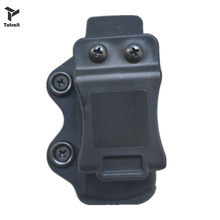 TOtrait tactical Glock Gun Magazine Case Universal Quick release single Mag Holster Concealed Carry gun Pouch(China)
