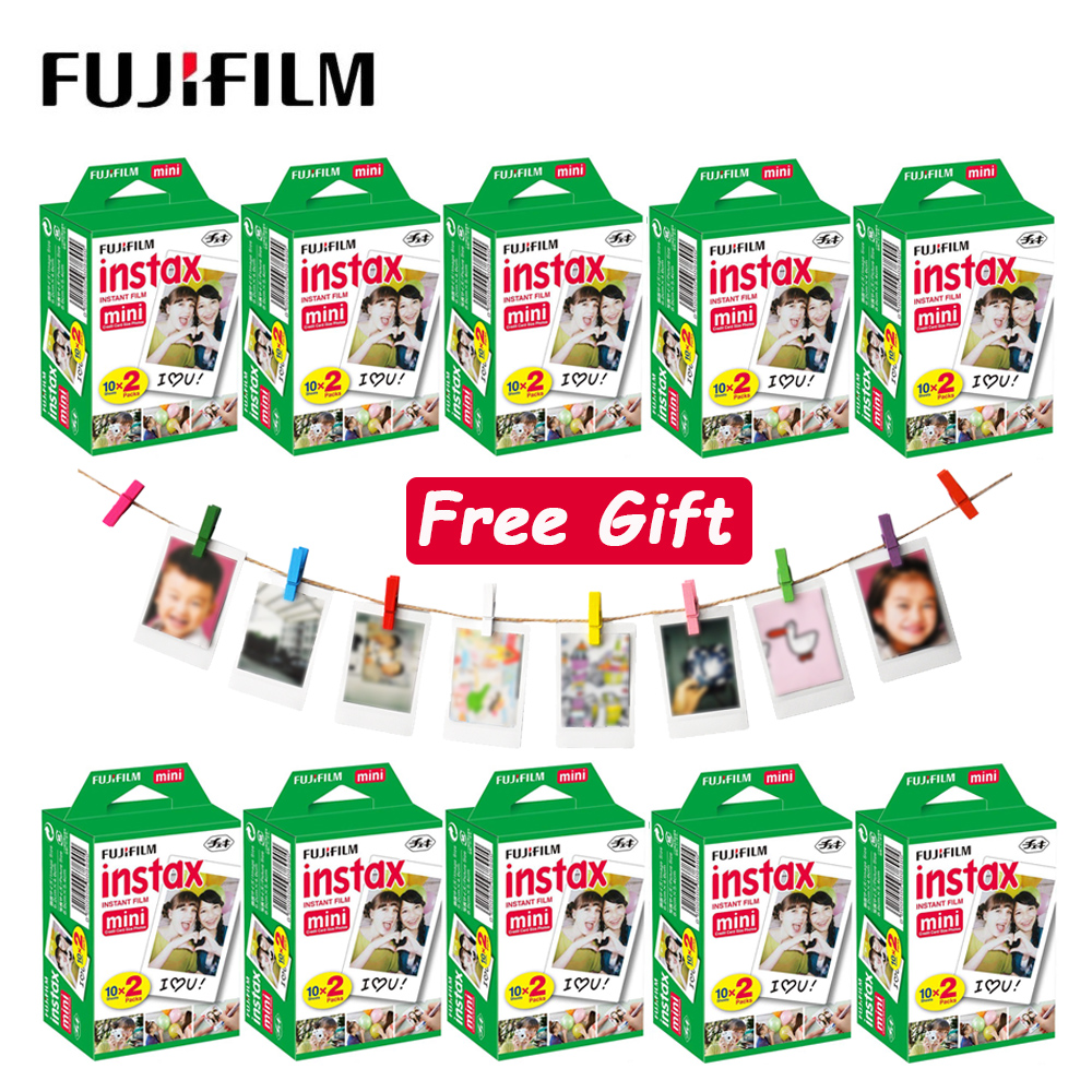 Fujifilm Instax Mini 11 9 8 пленка белая краевая фотобумага пленка для Liplay Polaroid FUJI Instant Mini LiPlay 7s 70 90 камера