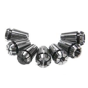 Image 4 - 7 قطعة عالية الكربون الصلب ER11 أسطوانة معدنية 1/2/3/4/5/6/7 مللي متر مع 5 مللي متر ER11A تمديد قضيب عمود المحرك حامل