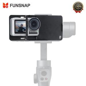 Image 1 - FUNSNAP Aluminum Switch Mount Camera Stabilizer for GoPro Hero 6/5/4 Motion Camera Adapter Plate Handheld Gimbal Accessory