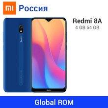 Xiaomi-teléfono inteligente Redmi 8A, ROM Global, teléfono móvil Original con 4GB RAM, 64GB ROM, Batería grande de 5000mAh, procesador Snapdragon 439, Octa Core, cámara de 12,0mp, tipo C