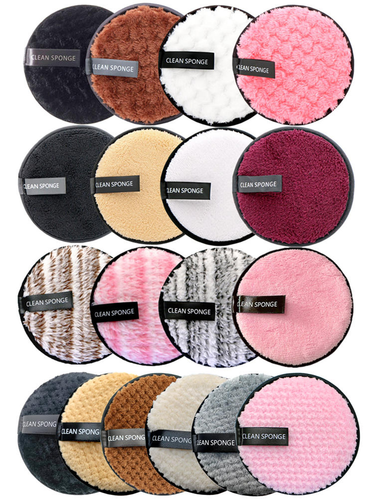 Cleaning-Pads-Tool Wipes Makeup-Remover-Pads Microfiber Reusable Cotton