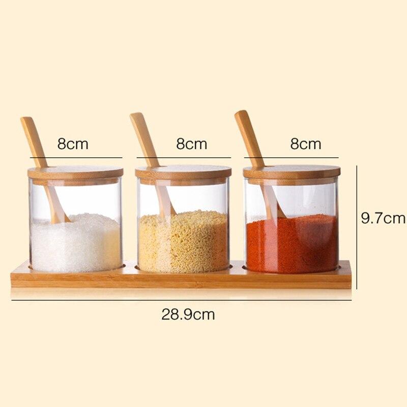 BESTONZON 12PCS Spice Jars Square Seasoning Bottle for Spices Salt Pepper Herbs