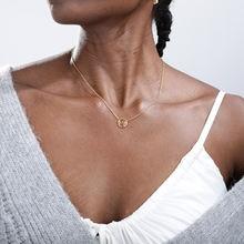 Ожерелье с подвеской в виде Солнца и Луны для женщин мужчин