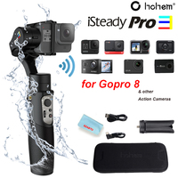 HOHEM ISteady Pro 3 3-Achse Handheld Splash-Proof Gimbal, geeignet Für DJI Osmo Action Gopro Hero 8/7/6/5/4/3, SJCAM YI und o